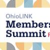 Multicolor graphic from OhioLINK Summit branding