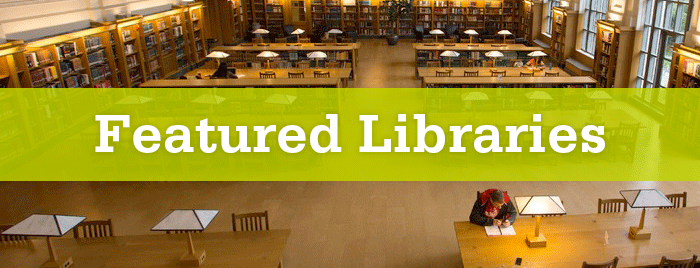 Featured Libraries banner